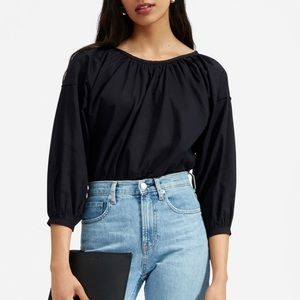 🖤 Everlane The Ruched Air Blouse 🖤